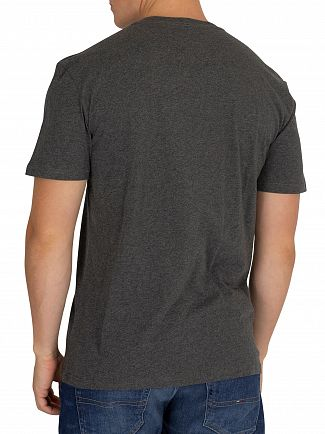 Tommy Jeans Dark Grey Heather Essential Graphic T-Shirt