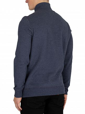 Tommy Jeans Black Iris Essential Half Zip Knit