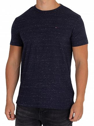 Tommy Jeans Black Iris Essential T-Shirt