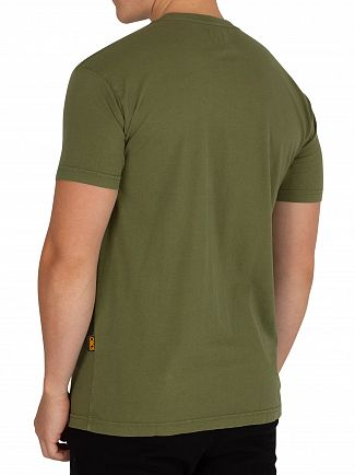 Vivienne Westwood Green Boxy Arm & Cutless T-Shirt