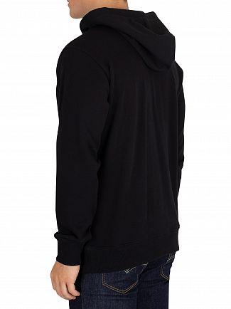 Calvin Klein Jeans Black Institutional Pullover Hoodie