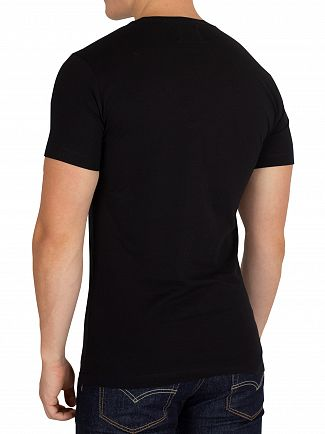 Calvin Klein Jeans Black/Jolly Green Monogram Box T-Shirt