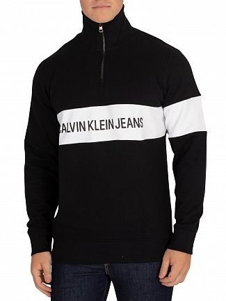 Calvin Klein Jeans Black Stripe Institutional Jumper