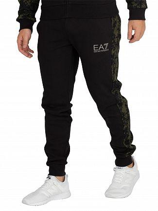EA7 Black/Camo Joggers