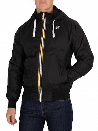 K-Way Black Le Vrai Remake 145 Padded Jacket