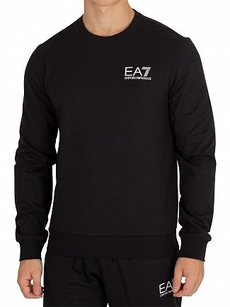 EA7 Black Sweatshirt