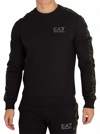 EA7 Black/Camo Sweatshirt