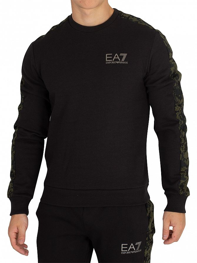 EA7 Black/Camo Sweatshirt