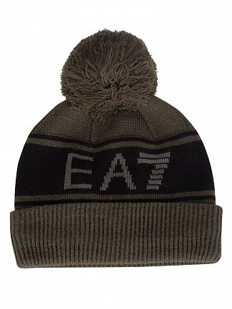 EA7 Forest Night Urban Beanie