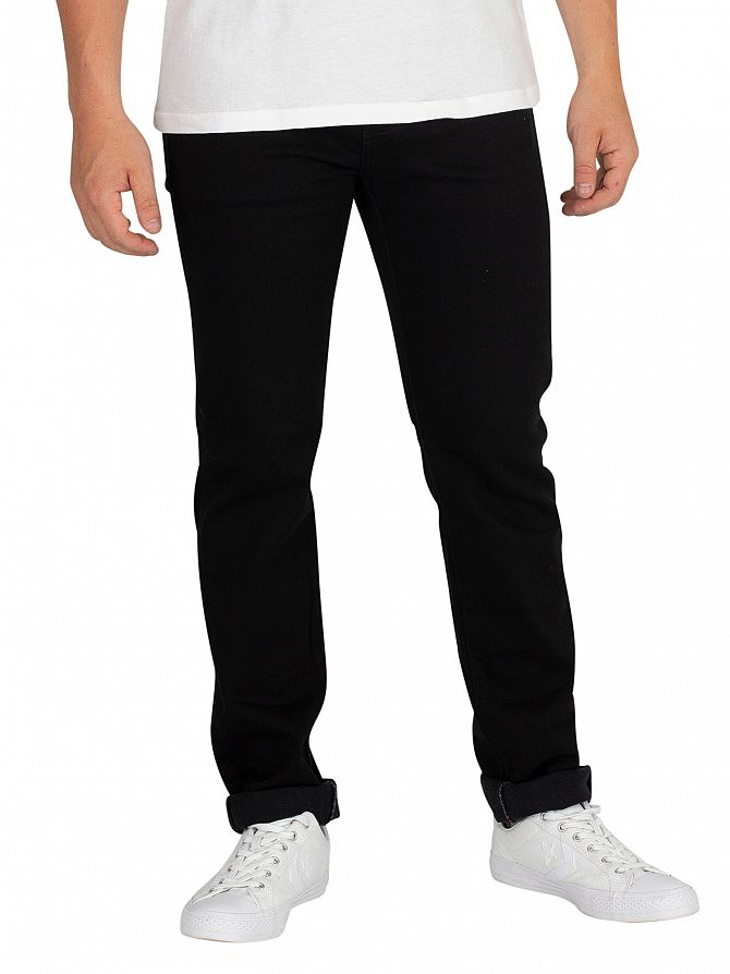 Edwin Power Black ED-80 Slim Tapered Jeans