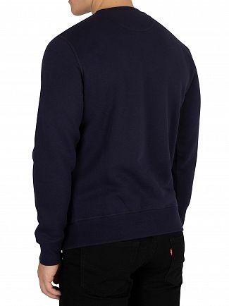Gant Evening Blue Gift Giving Sweatshirt