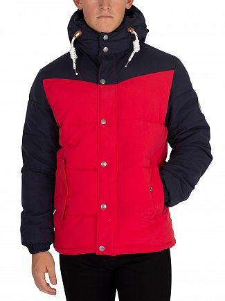 Jack & Jones Scarlet New Fagure Puffer Jacket