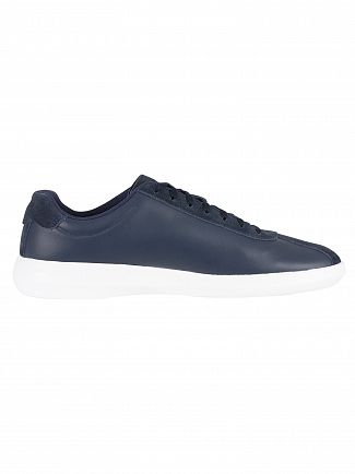 Lacoste Navy/White Avance 318 2 SPM Trainers