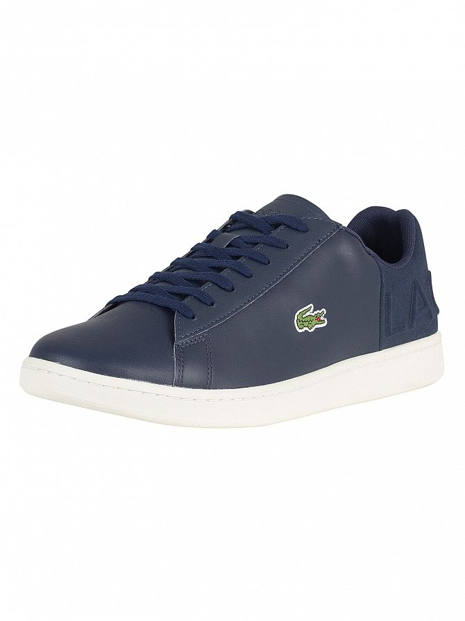85994684f49 Lacoste Men s Carnaby Evo 418 1 SPM Leather Trainers