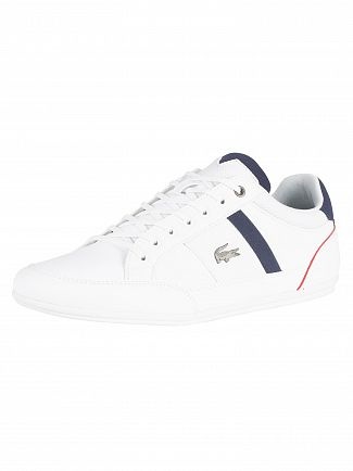 Lacoste White/Navy Chaymon 318 1 CAM Trainers