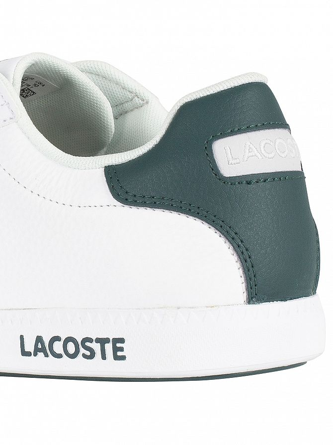 90fef9cbf7a90 Lacoste Men s Graduate LCR3 118 1 SPM Leather Trainers