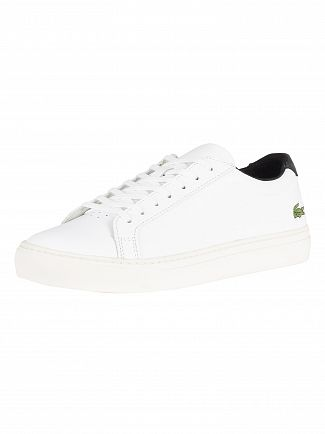Lacoste White/Black L.12.12 317 4 CAM Leather Trainers