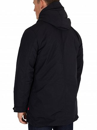 Levi's Black Fishtail Parka Jacket