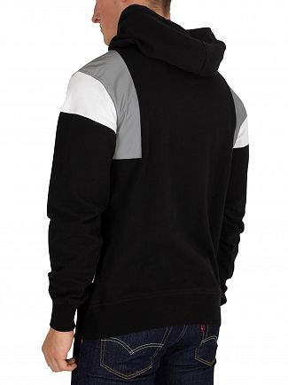 Nicce London Black/Reflective/White Barrio Pullover Hoodie
