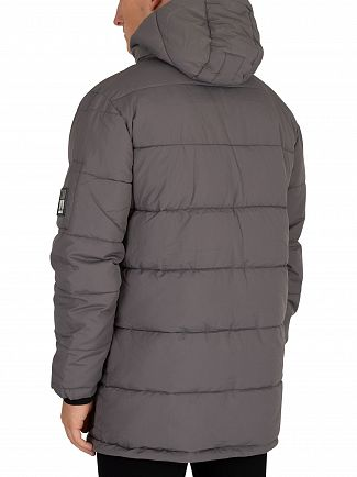 Nicce London Coal Fino Puffa Jacket