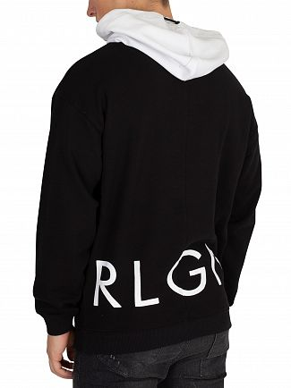 Religion Black/White Blagger Pullover Hoodie
