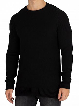 Religion Black Dash Knit