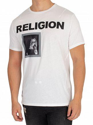 Religion White Moody T-Shirt