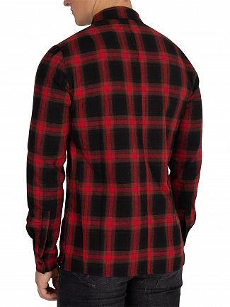 Religion Red/Black Salvation Shirt