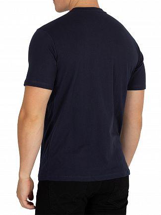 Sergio Tacchini Navy/Apple Red Iberis T-Shirt