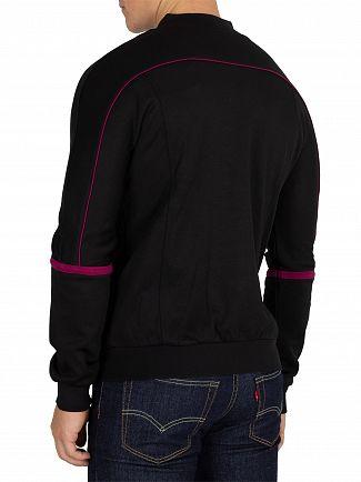 Sergio Tacchini Black/Potion Amiscora Logo Track Jacket