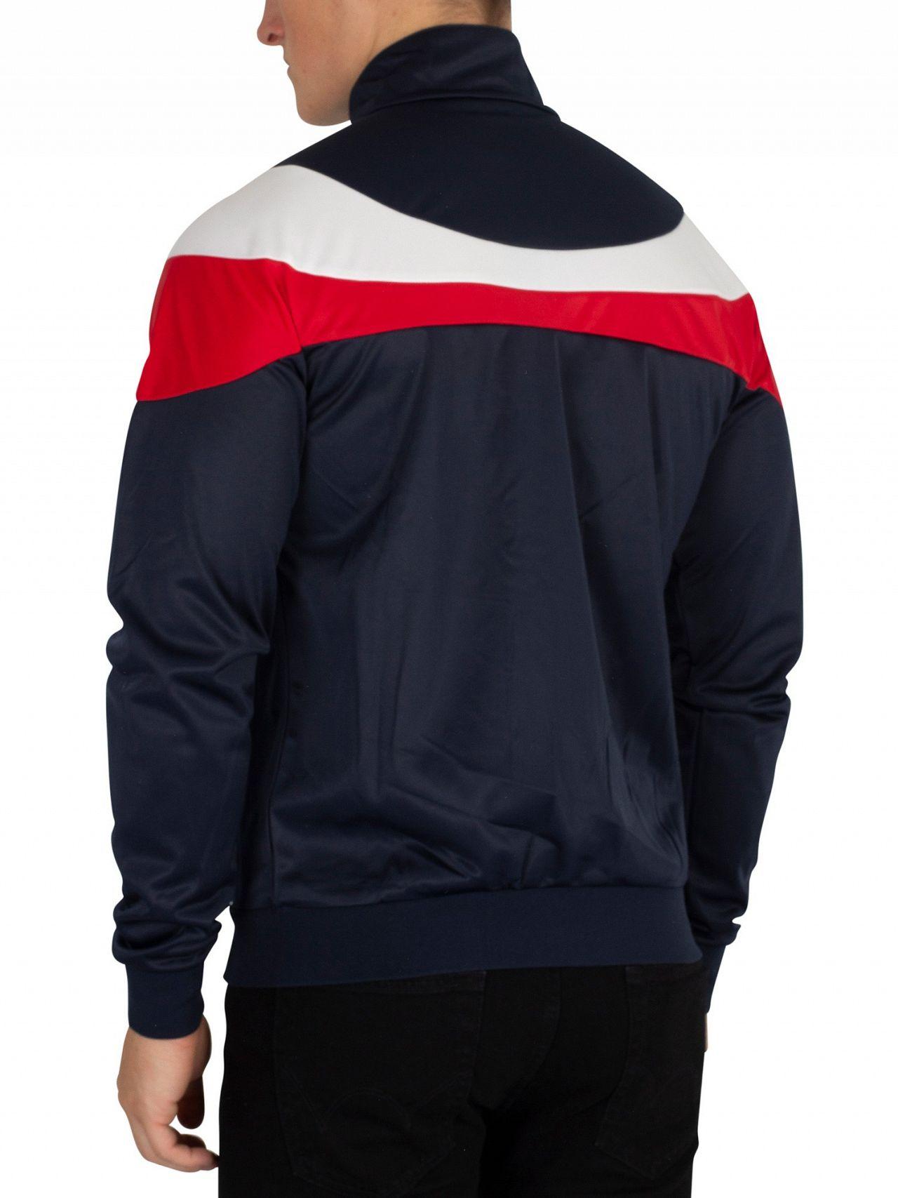 27ae2bd8 Sergio Tacchini Navy/White Fohn Logo Track Jacket | Standout