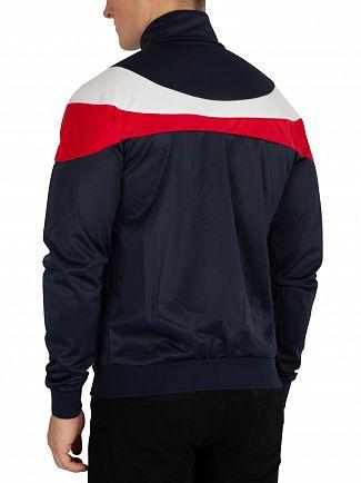 Sergio Tacchini Navy/White Fohn Logo Track Jacket