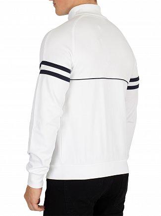 Sergio Tacchini White Orion Logo Track Jacket