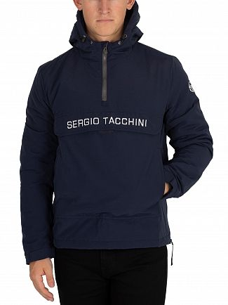 Sergio Tacchini Navy/White Into Pullover Jacket