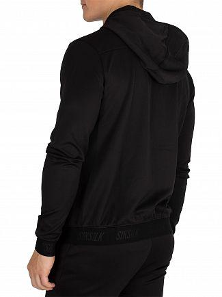 Sik Silk Black Agility Zip Hoodie