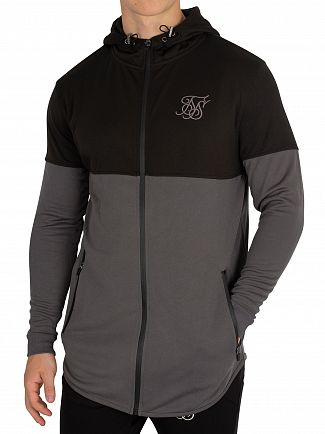 Sik Silk Light Grey/Dark Grey Ultra Tech Zip Hoodie