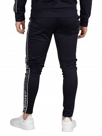 Society Sport Navy US Tape Joggers