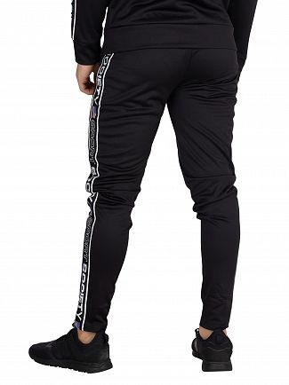 Society Sport Black US Tape Joggers