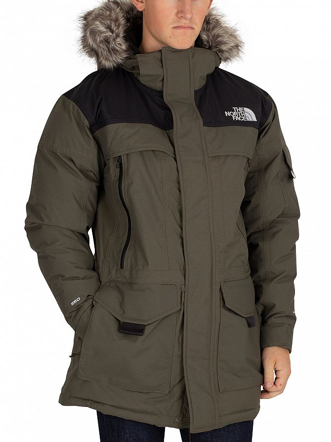 The North Face Green/Black Murdo Parka Jacket