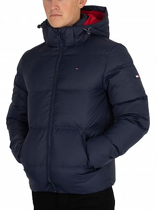 Tommy Jeans Black Iris Essential Down Jacket