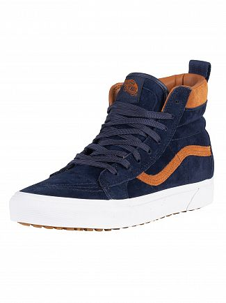 Vans Dress Blue Sk8-Hi MTE Suede Trainers