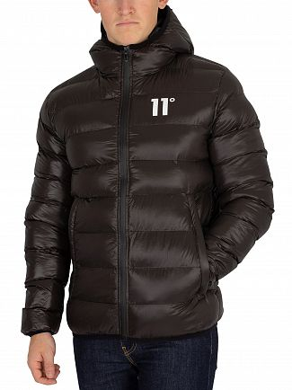 11 Degrees Black Strike Puffer Jacket