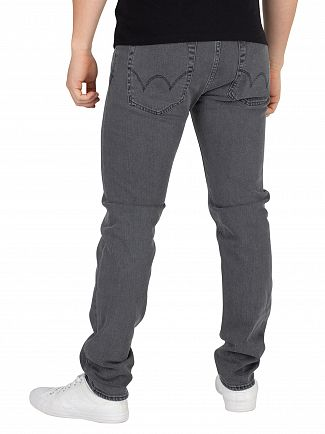 Edwin Black Bristol Wash ED-85 Slim Tapered Drop Crotch Jeans