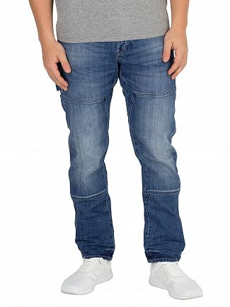G-Star Medium Aged Faeroes Classic Straight Tapered Jeans