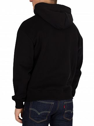 G-Star Dark Black Togrul Stor Pullover Hoodie
