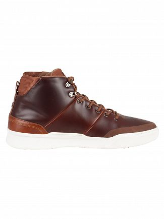 Lacoste Tan/Brown Explorateur Classic 318 1 CAM Trainers