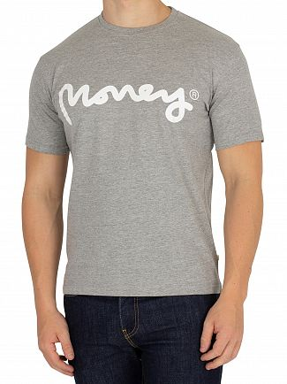 Money Light Grey Heather Sig Ape T-Shirt
