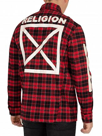 Religion Black/Red Live East Shirt