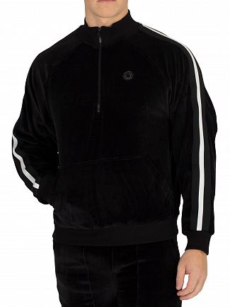 Religion Black/White March Track Zip Jacket