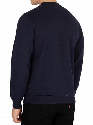 Sergio Tacchini Navy/White Ioab Graphic Sweatshirt